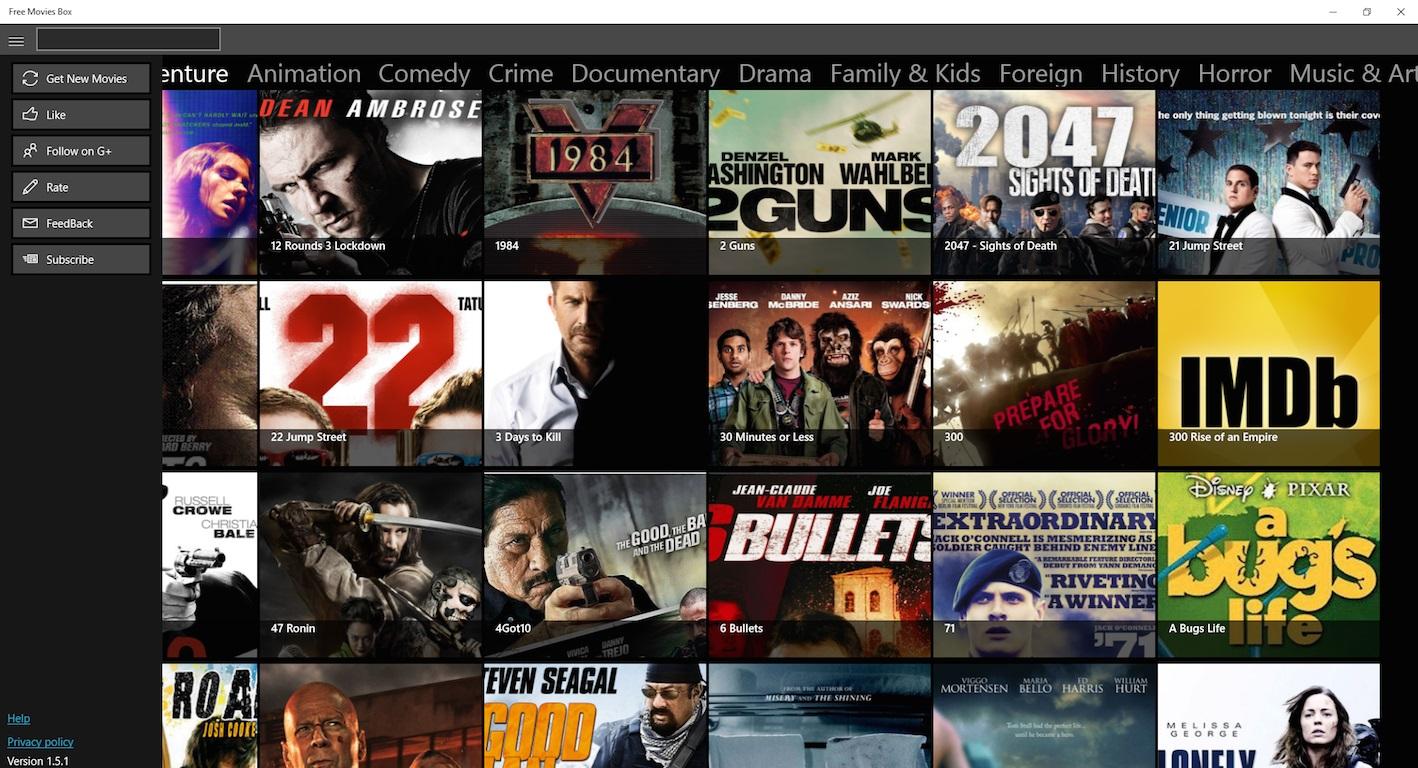 Free Movies Box RT